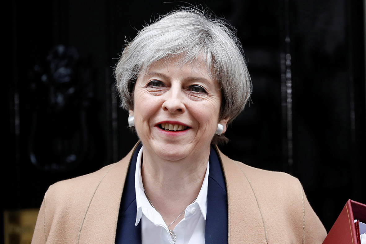 Theresa May: British military trainers to be sent to ...