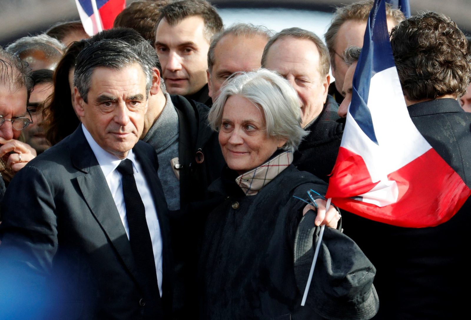 Francois and Penelope Fillon