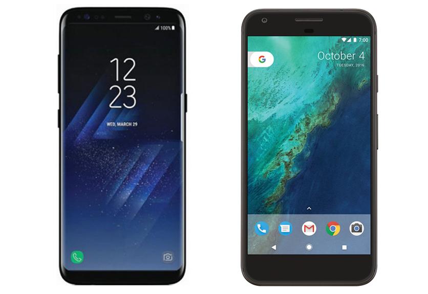 Samsung Galaxy S8 vs Google Pixel XL