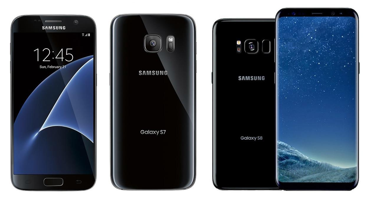 Samsung Galaxy S7 vs Galaxy S8