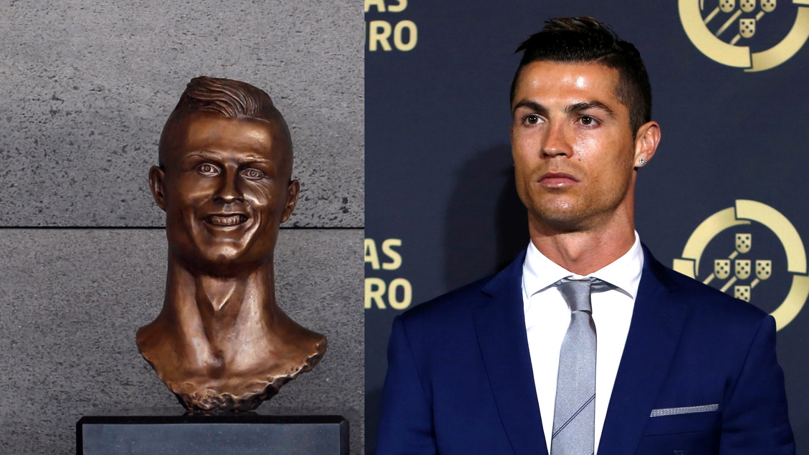 Twitter goes into meltdown after hilarious Cristiano Ronaldo statue is unveiled