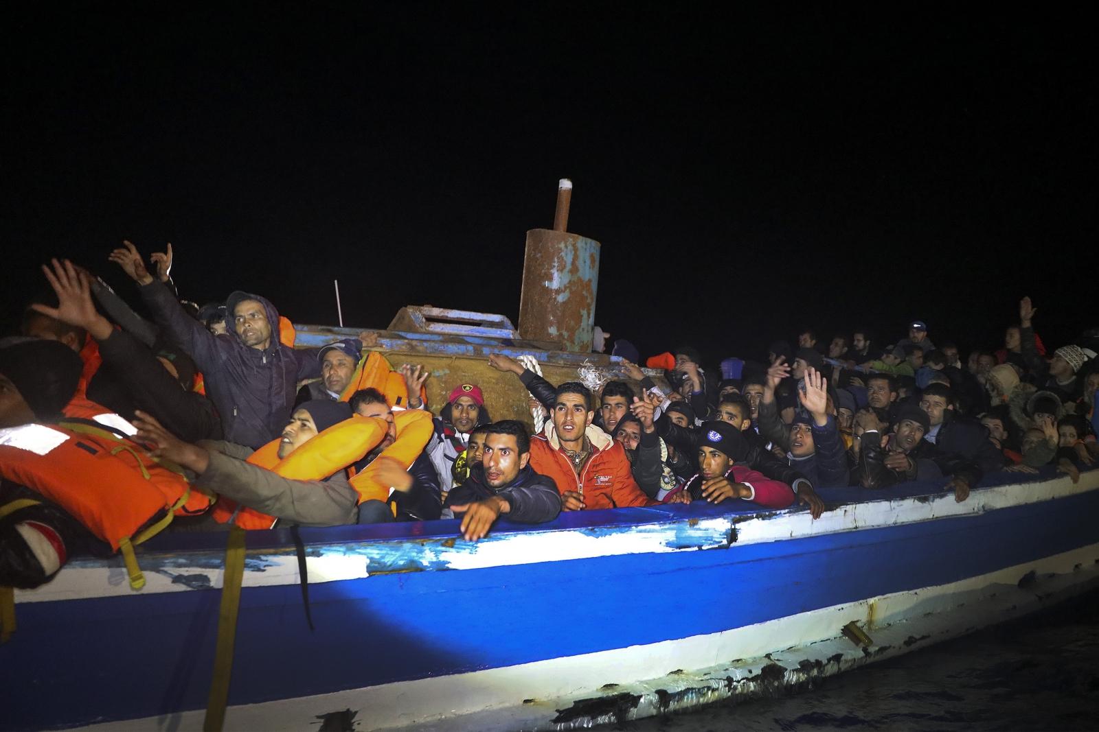 migrant ship 29 March