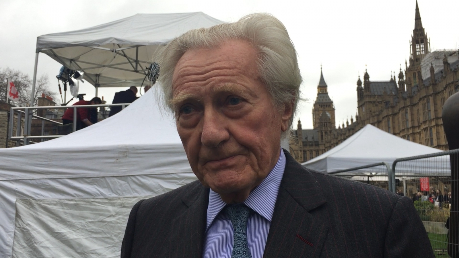 Lord Michael Heseltine on Brexit Day