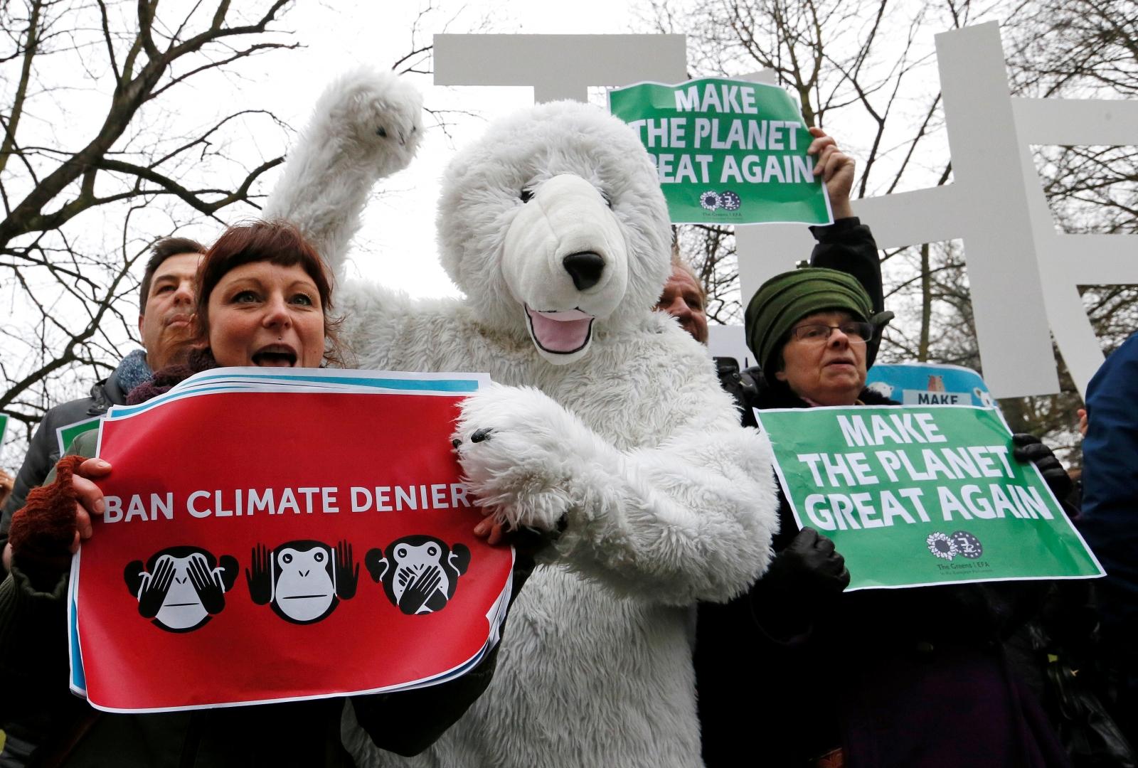 US Environmental activists
