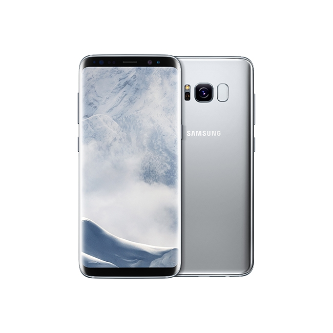 Samsung Galaxy S8 in silver