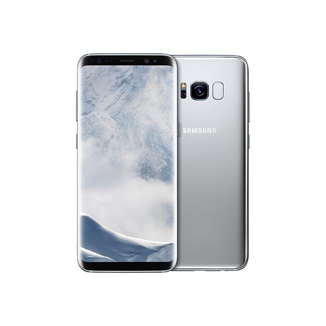Samsung Galaxy S8 in silver