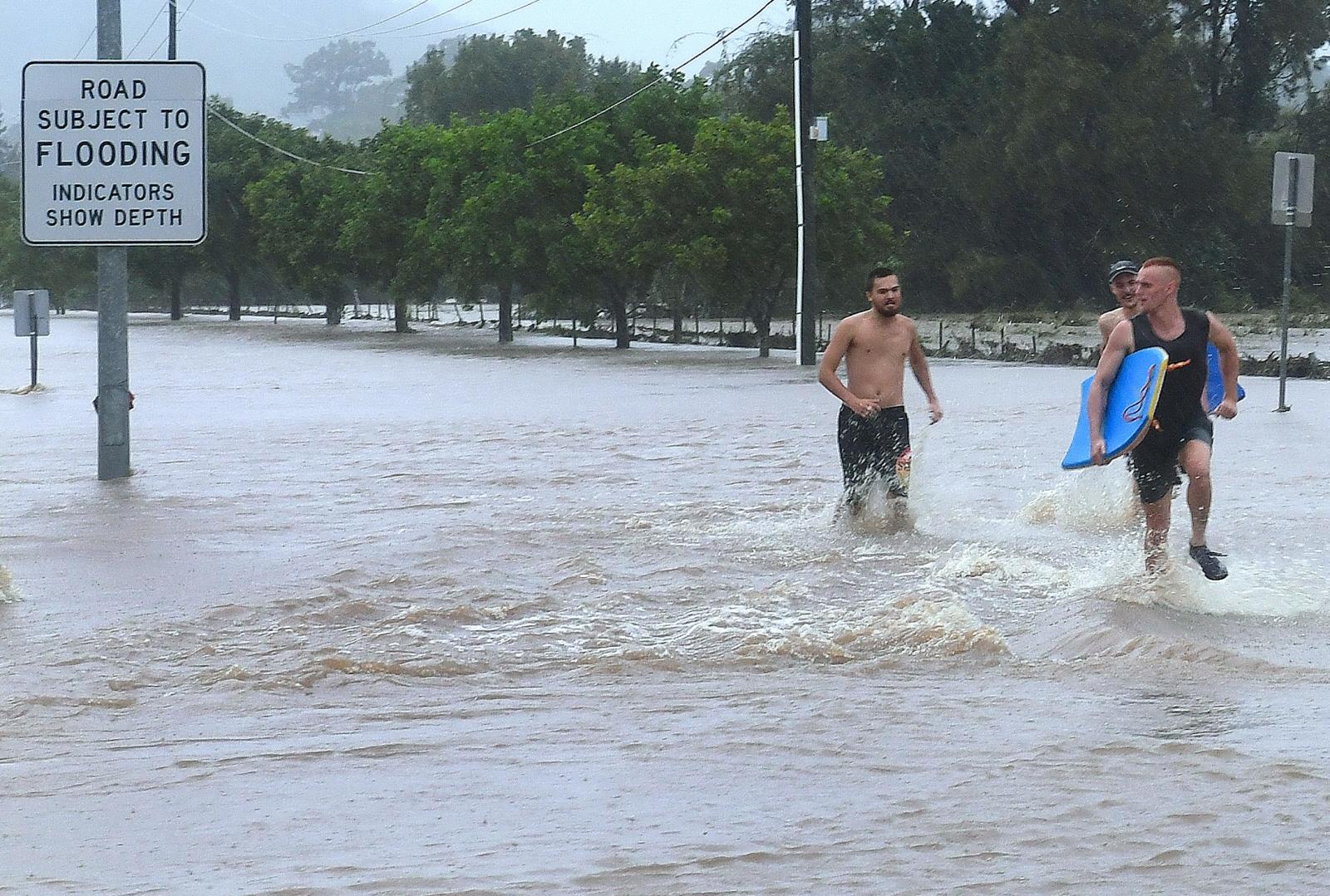 Australia rains