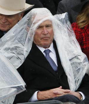 George W Bush Donald Trump