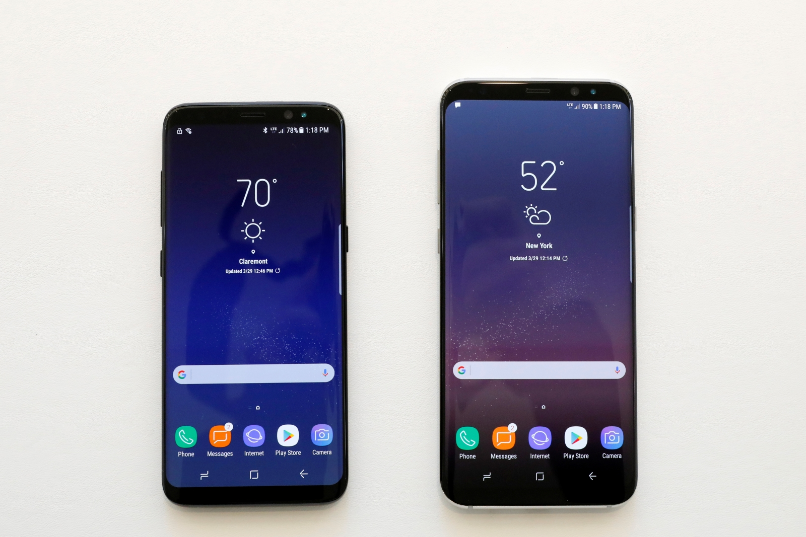 Samsung Galaxy S8 and S8 Plus