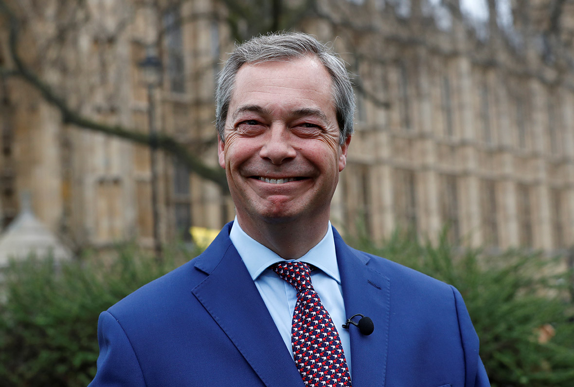 Nigel Farage roundly mocked on Twitter for saying he hates ...