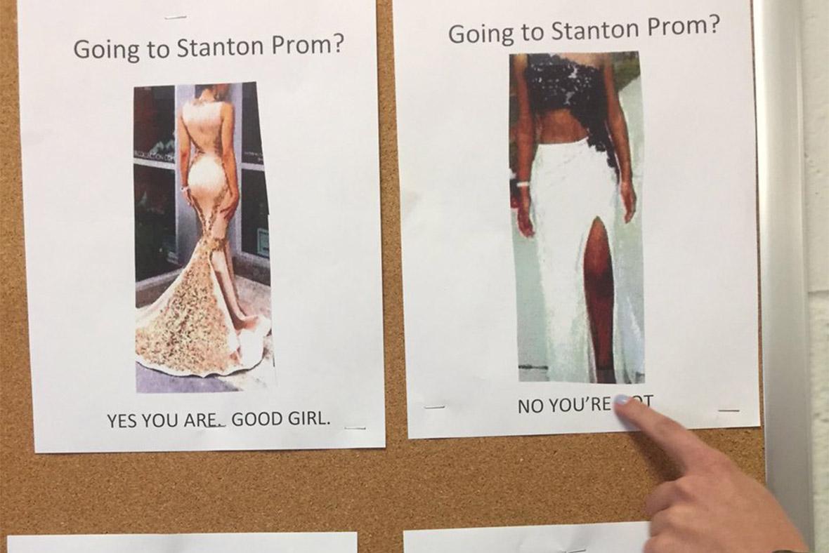 Stanton prom dress