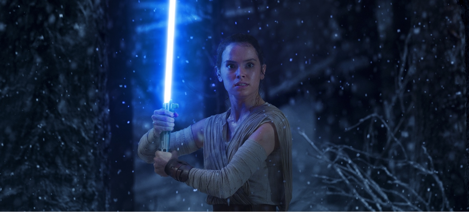 Rey in Star Wars: The Force Awakens