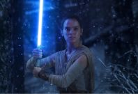 Rey in Star Wars: The Force Awakens