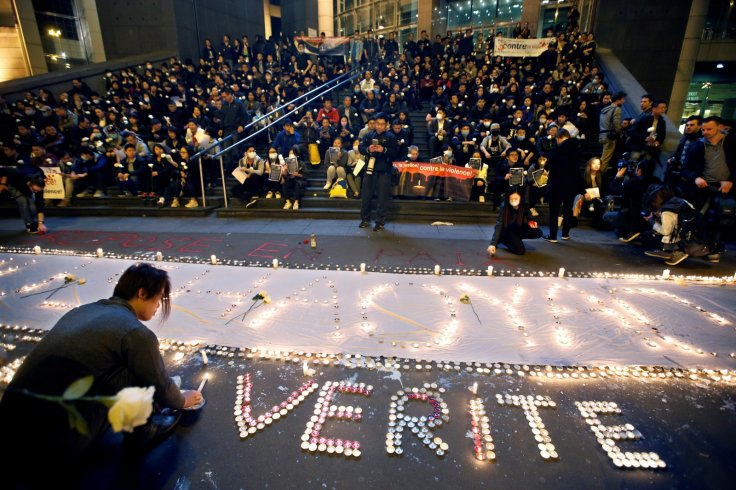 Chinese community vigil Paris killing