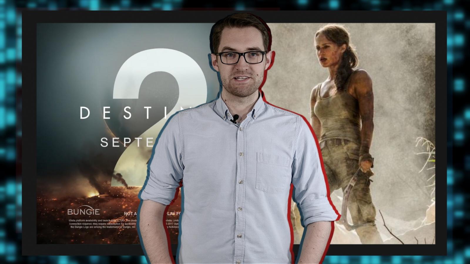 Video game news round-up: Destiny 2 revealed, Dota 2 TI7 dated and Alicia Vikander as Lara Croft