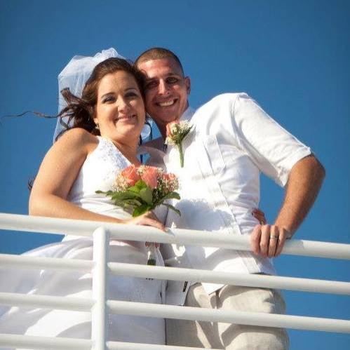 Matthew Notebaert and wife Amanda