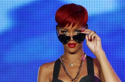 Singer Rihanna performs during the quotRock in Rioquot music festival in Arganda del Rey near Madrid