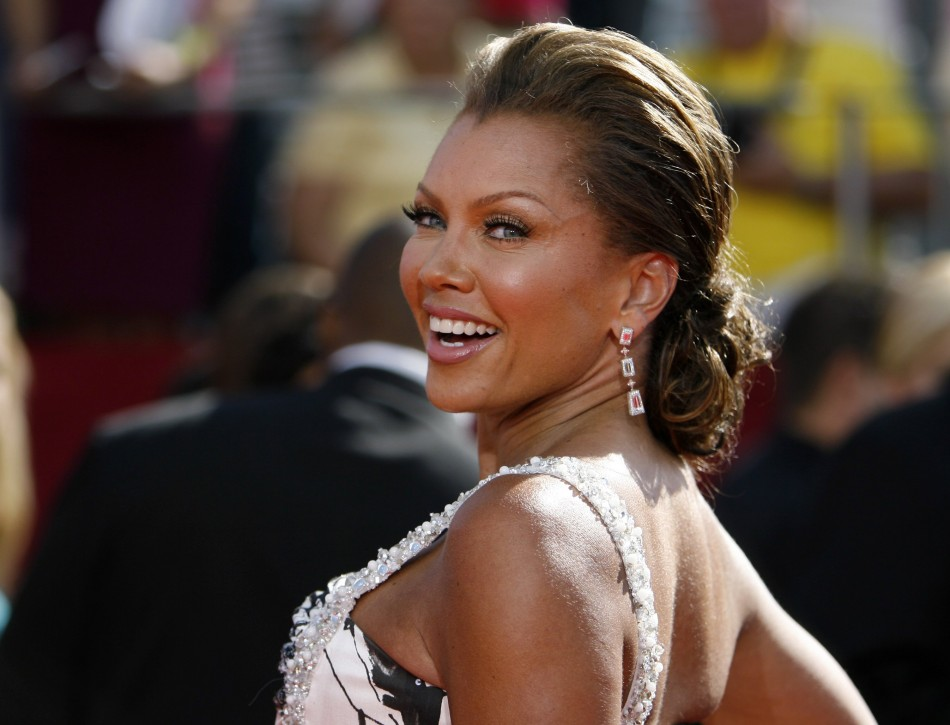 Actress Vanessa Williams arrives at the 60th annual Primetime Emmy Awards in Los Angeles