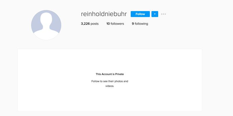 James Comey FBI secret Instagram