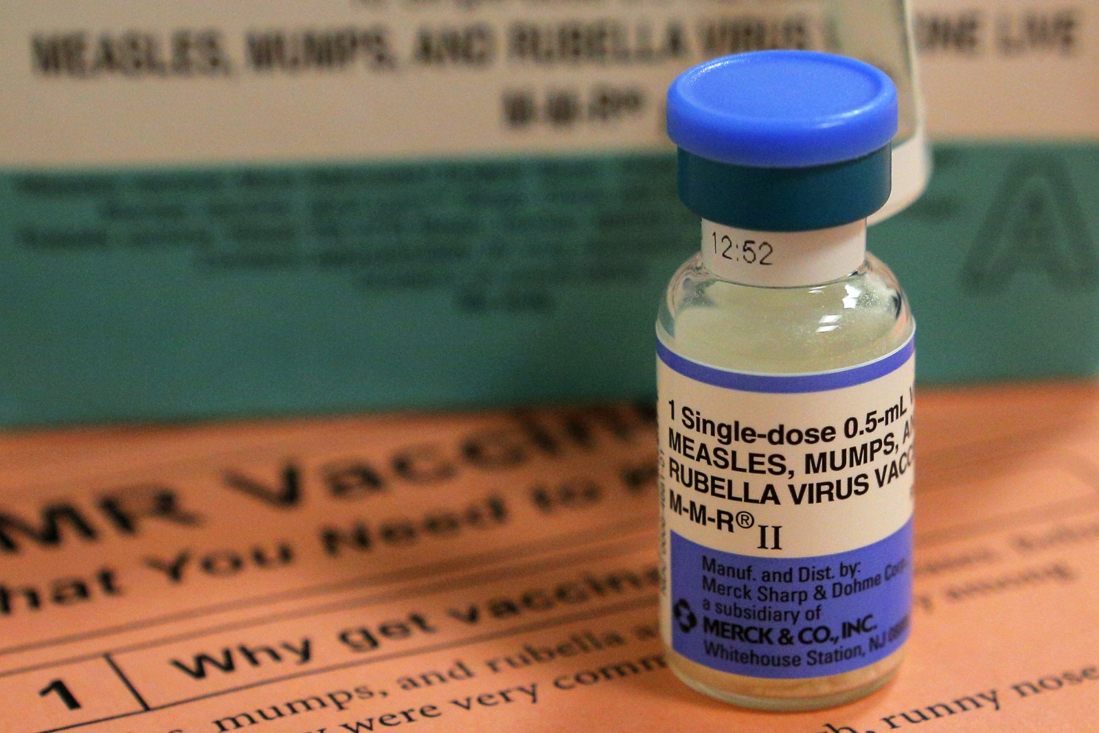MMR vaccination measles