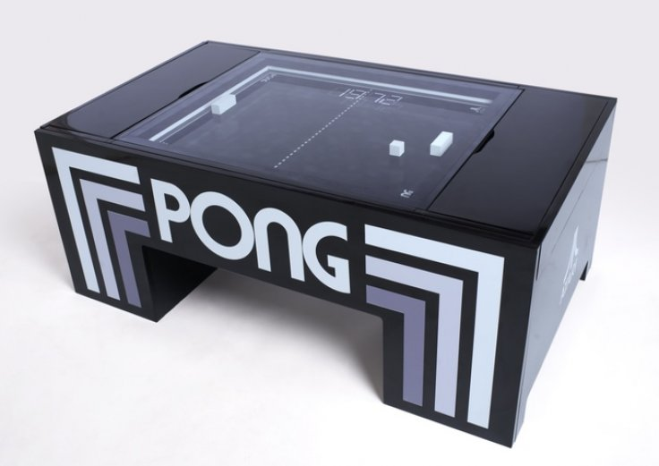 Pong coffee table