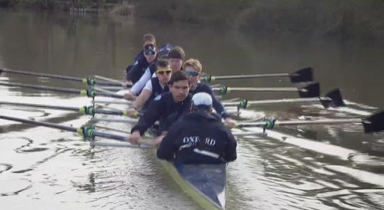 Oxford Crew Prepare for the 2017 Boat Race