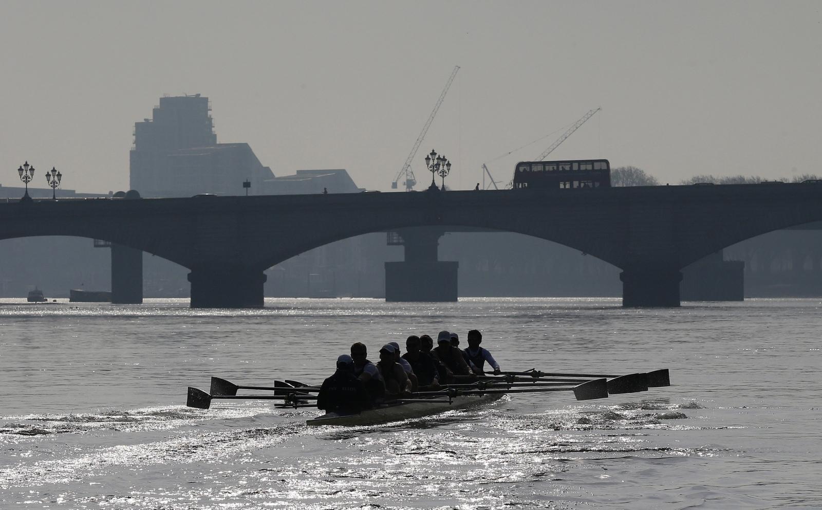Oxford University rowing crew