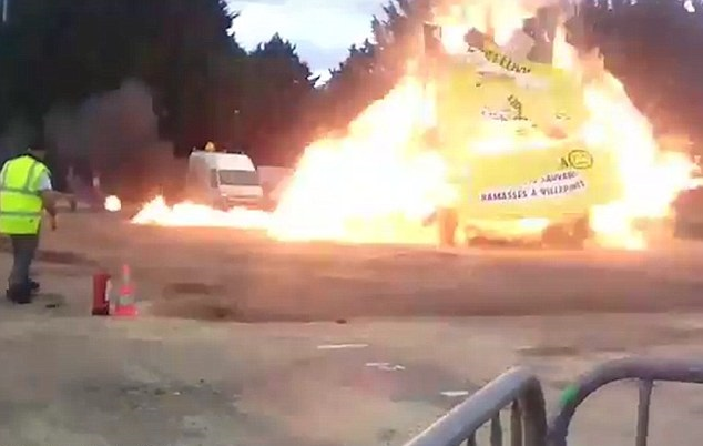 Paris carnival fireworks explosion