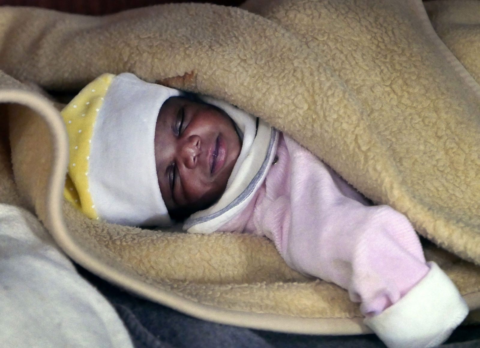 4 day old baby rescued mediterranean