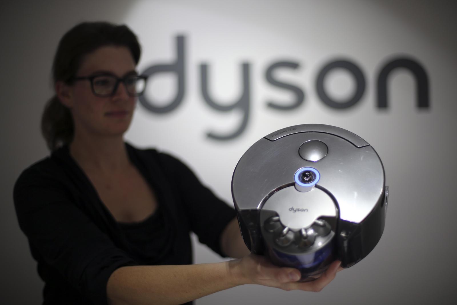 Dyson robotic vacuum cleaner