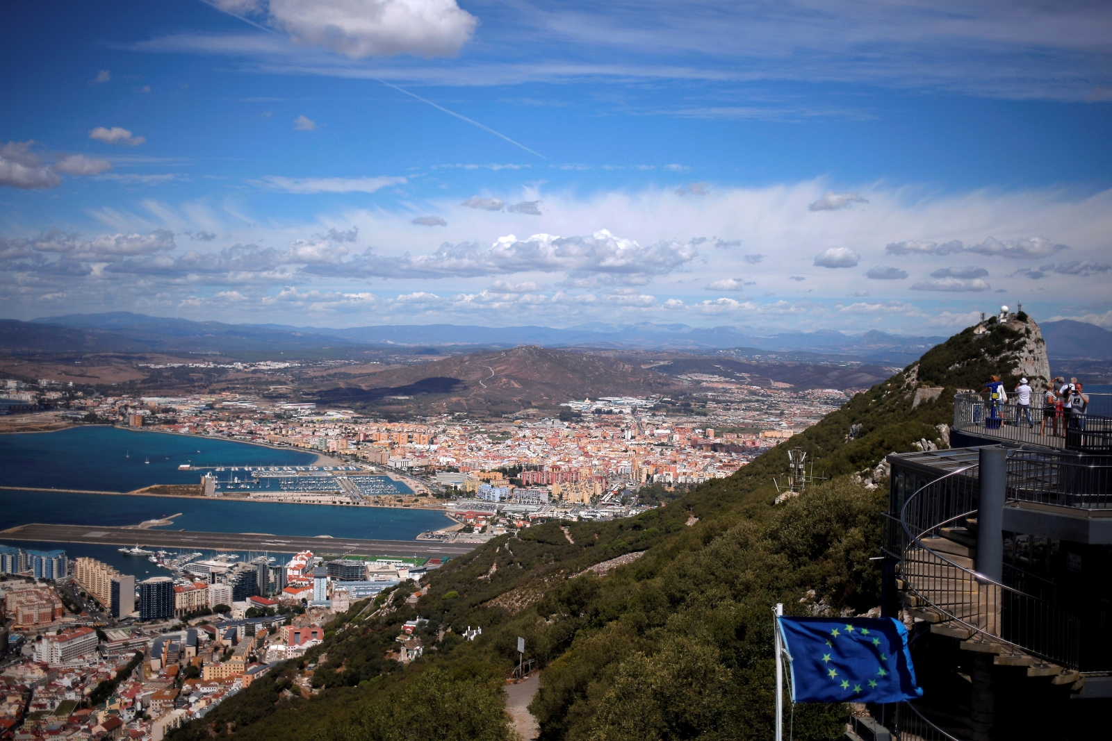 Spain tells Britain to calm down over Gibraltar