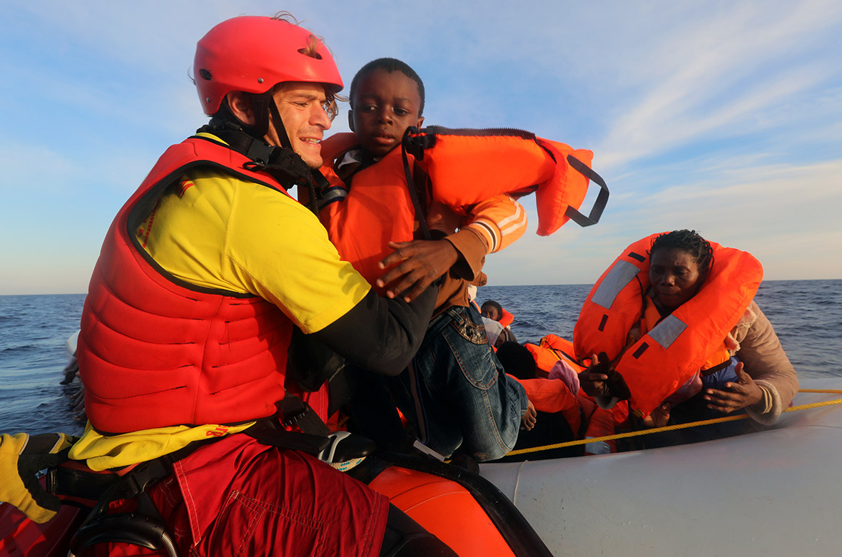 Proactiva Open Arms rescue