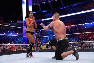 John Cena Nikki Bella proposal Wrestlemania