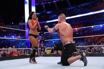 John Cena Nikki Bella proposal Wrestlemania