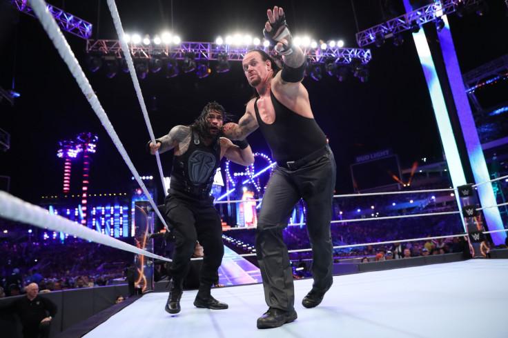 Undertaker retirement Roman Reigns WWE WrestleMania