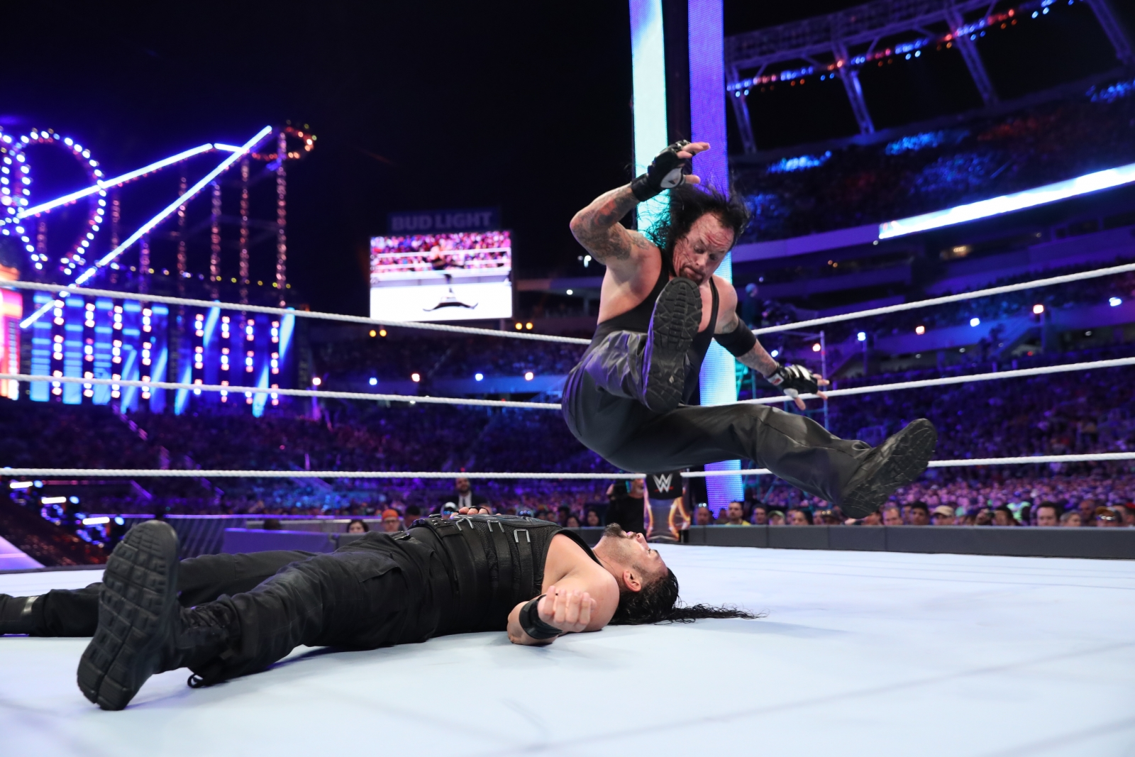 WWE: What happened backstage after Roman Reigns beat The ...