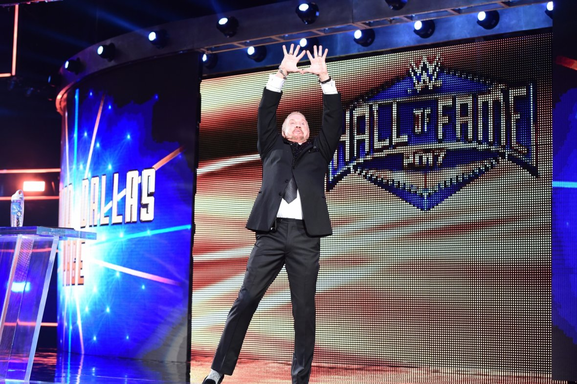 Diamond Dallas Page WWE Hall of Fame