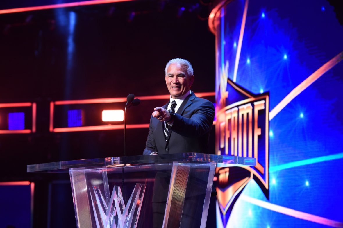WWE Hall of Fame Ricky Steamboat