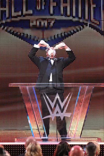 Kurt Angle WWE Hall of Fame