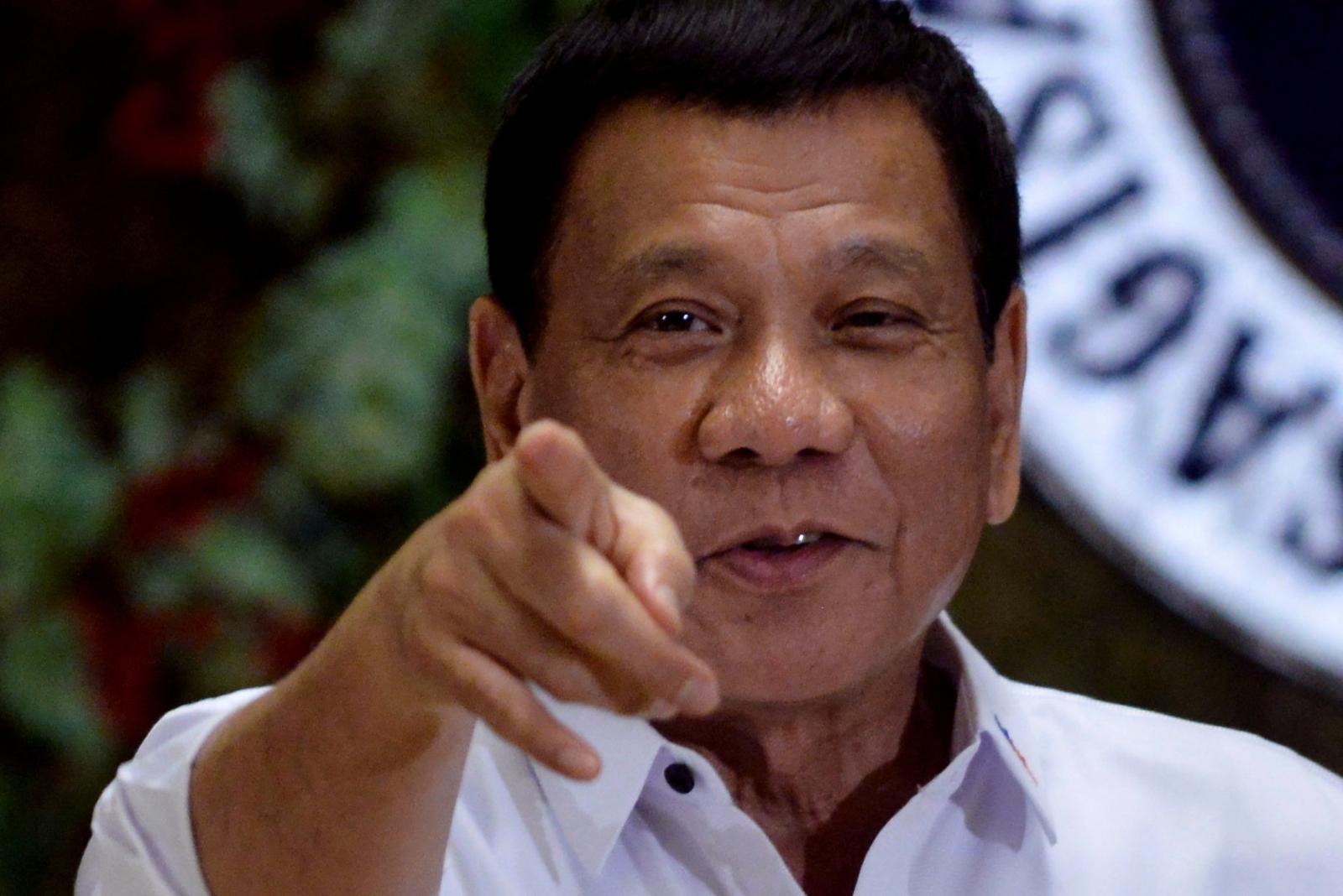 Duterte sacks interior minister