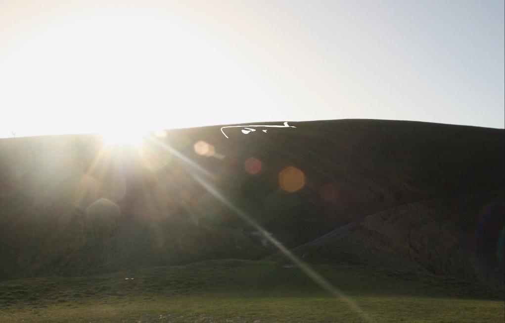 Midwinter sun