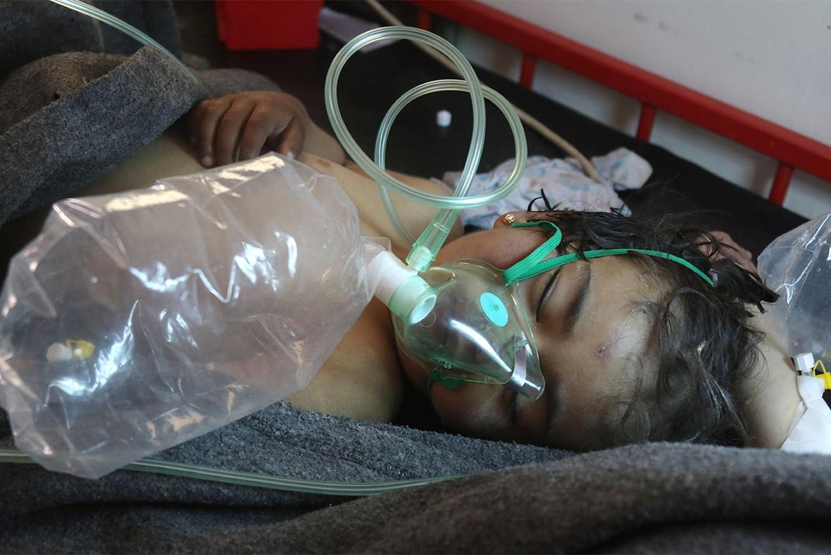 Syria gas attack