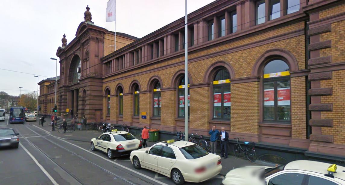 Bonn's central train station