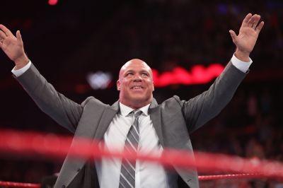 WWE Raw 4 April 2017 Kurt Angle