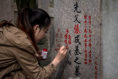 Qingming tomb sweeping festival