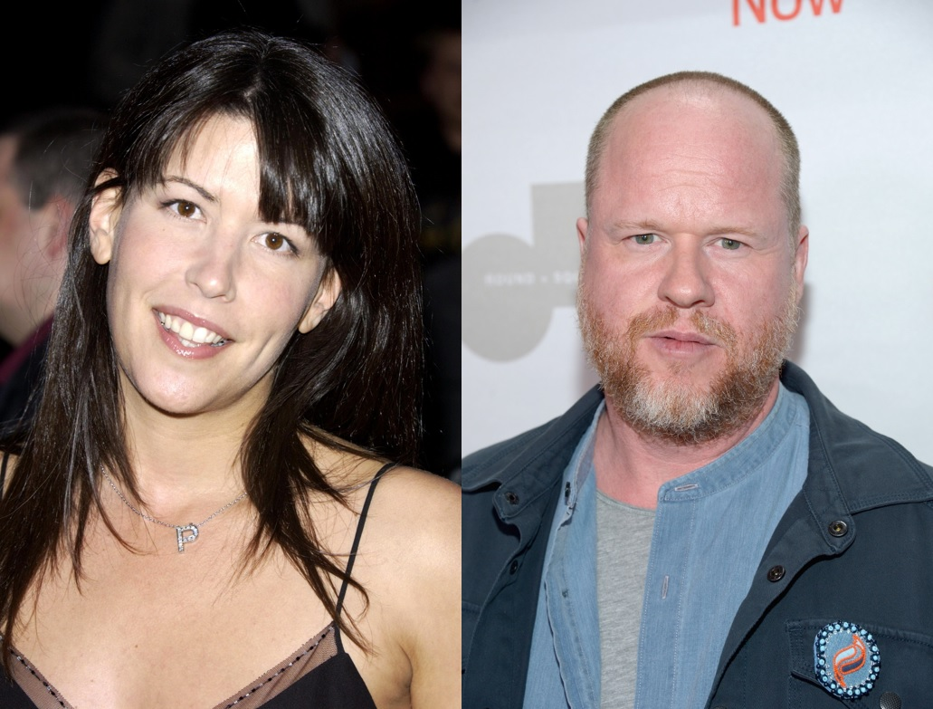 Patty Jenkins and Joss Whedon