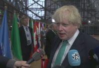 Boris Johnson blames Assad regime for chemical attack