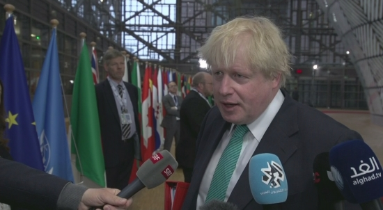 Boris Johnson blames Assad regime for chemical attack
