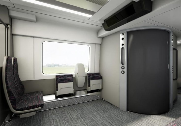 New Greater Anglia train carriage