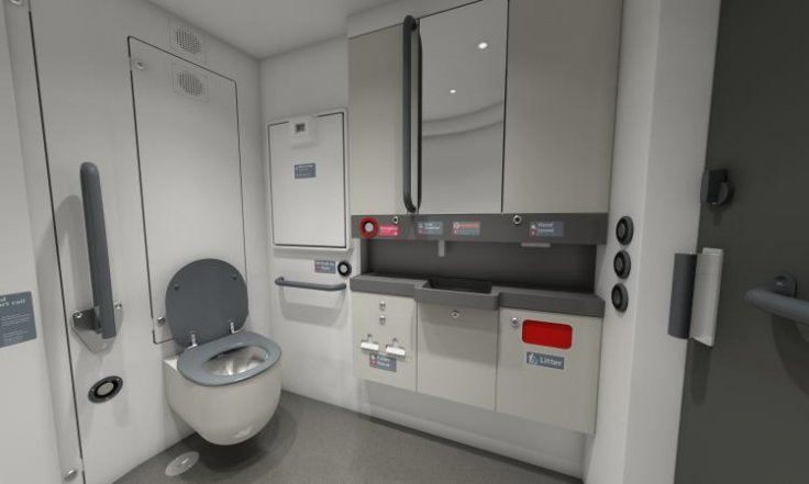 Greater Anglia universal access toilet